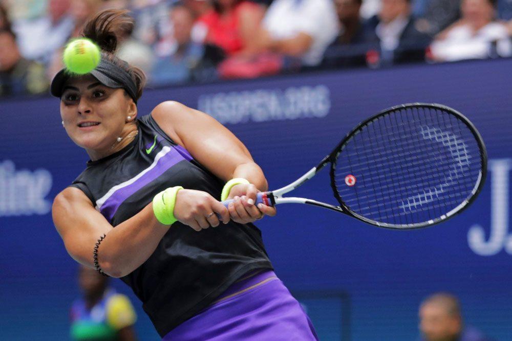 بیانکا ونسا آندرسکو فاتح تنیس گرنداسلم 1000x667 تنیس آزاد آمریکا | تاریخ سازی دختر ۱۹ ساله کانادایی با شکست سرنا ویلیامز در فینال