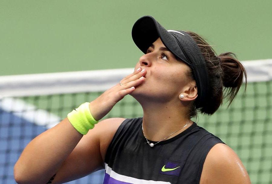 بیانکا ونسا آندرسکو فاتح تنیس یو اس اوپن تنیس آزاد آمریکا | تاریخ سازی دختر ۱۹ ساله کانادایی با شکست سرنا ویلیامز در فینال