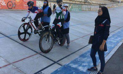 تیم اسپرینت 400x240 لیگ دوچرخه سواری جاده و پیست | درخشش پارمیدا نیک فر ، ستاره زرگر و فروزان عبداللهی