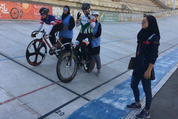 تیم اسپرینت 600x400 گزارش تصویری | برترینهای مرحله دوم لیگ دوچرخه سواری پیست بانوان