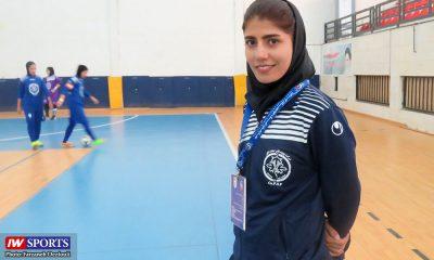 دیدار پویندگان صنعت شیراز و پارس آرای شیراز لیگ برتر فوتسال بانوان محبوبه رضوی 400x240 سرمربی تیم پویندگان فجر شیراز پس از پیروزی بر شهروند : خستگی راه کارمان را سخت کرد