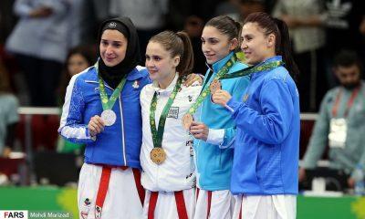 رزیتا علیپور و کسب مدال 400x240 ارتقای رنکینگ کاراته کاهای دختر ایران در رده بندی جهانی