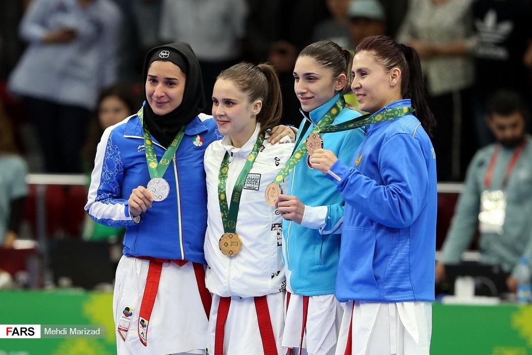 ارتقای رنکینگ کاراته کاهای دختر ایران در رده بندی جهانی