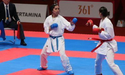 رزیتا علیپور 400x240 لیگ جهانی کاراته سری آ  | شیلی عباسعلی و علیپور در فینال؛ بهمنیار در رده بندی