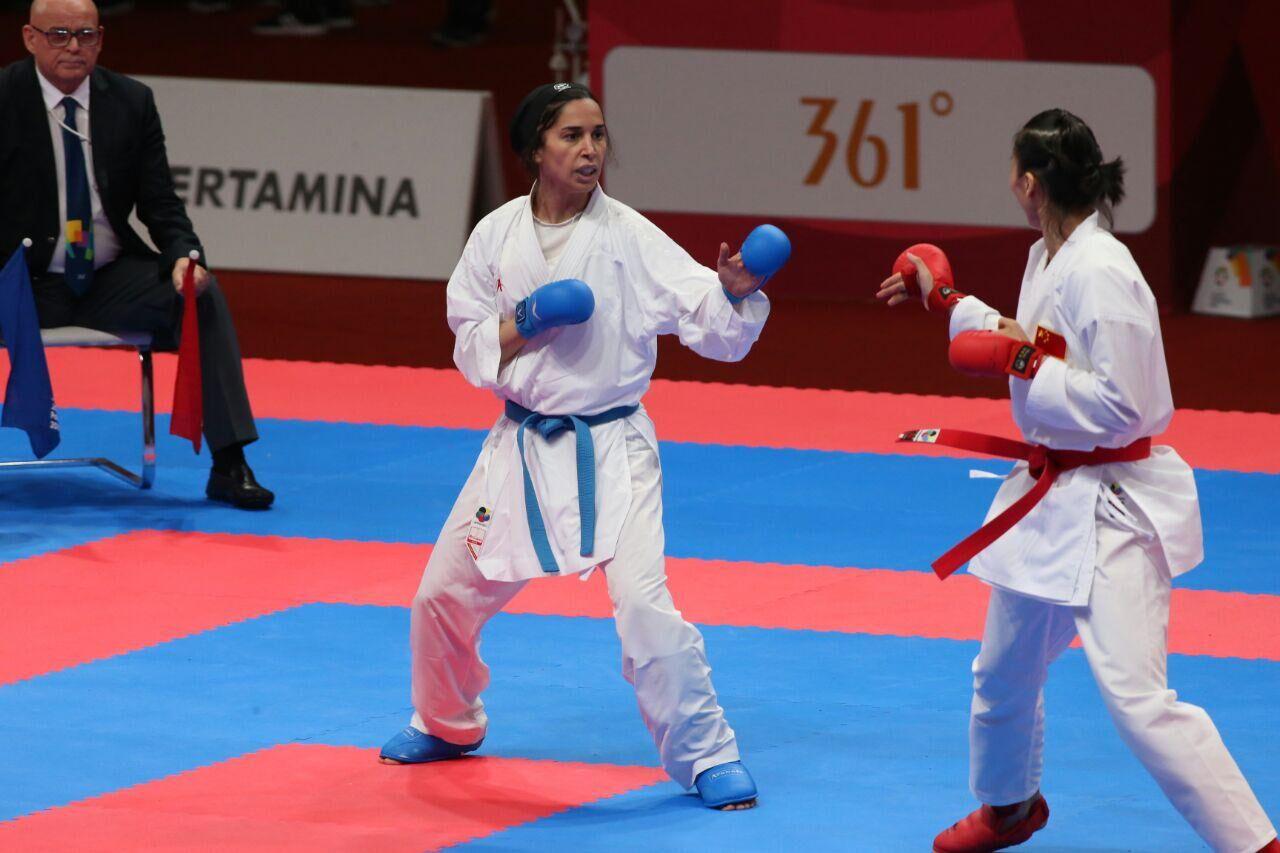 رزیتا علیپور لیگ جهانی کاراته سری آ  | شیلی عباسعلی و علیپور در فینال؛ بهمنیار در رده بندی