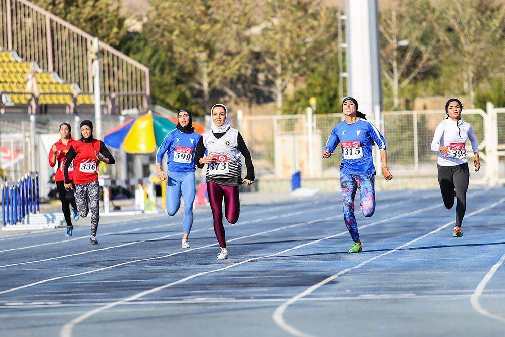 رقابت 200 متر دو و میدانی بانوان فرزانه فصیحی 1000x667 مرحله دوم دو و میدانی باشگاههای کشور | صدرنشینی دانشگاه آزاد و ثبت ۷ رکورد جدید