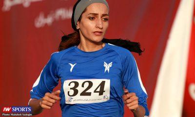 روز اول مرحله سوم دو و میدانی بانوان باشگاه های کشور پریسا عرب 400x240 نظرات قهرمان اسبق استقامت درباره پریسا عرب | غیور: به فدراسیون دو و میدانی نقد وارد است