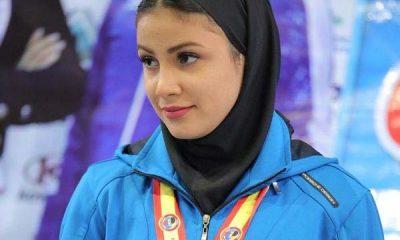 سارا بهمنیار و کسب مدال در لیگ جهانی 400x240 سارا بهمنیار و کسب سهمیه المپیک ؛  به تعویق افتاد!