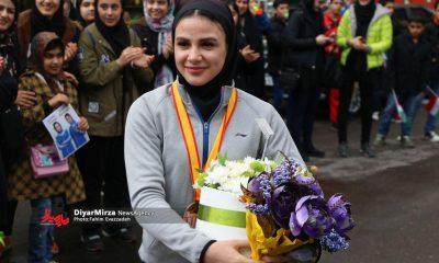 سارا بهمنیار 400x240 کاراته وان توکیو | سارا بهمنیار به دیدار فینال راه پیدا کرد