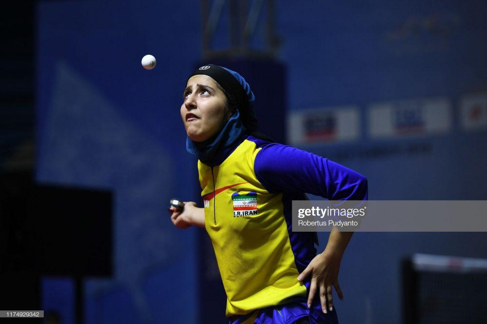 فاطمه جمالی فر در مسابقات تنیس روی میز قهرمانی آسیا 3 1000x667 گزارش تصویری | فاطمه جمالی فر در مسابقات تنیس روی میز قهرمانی آسیا