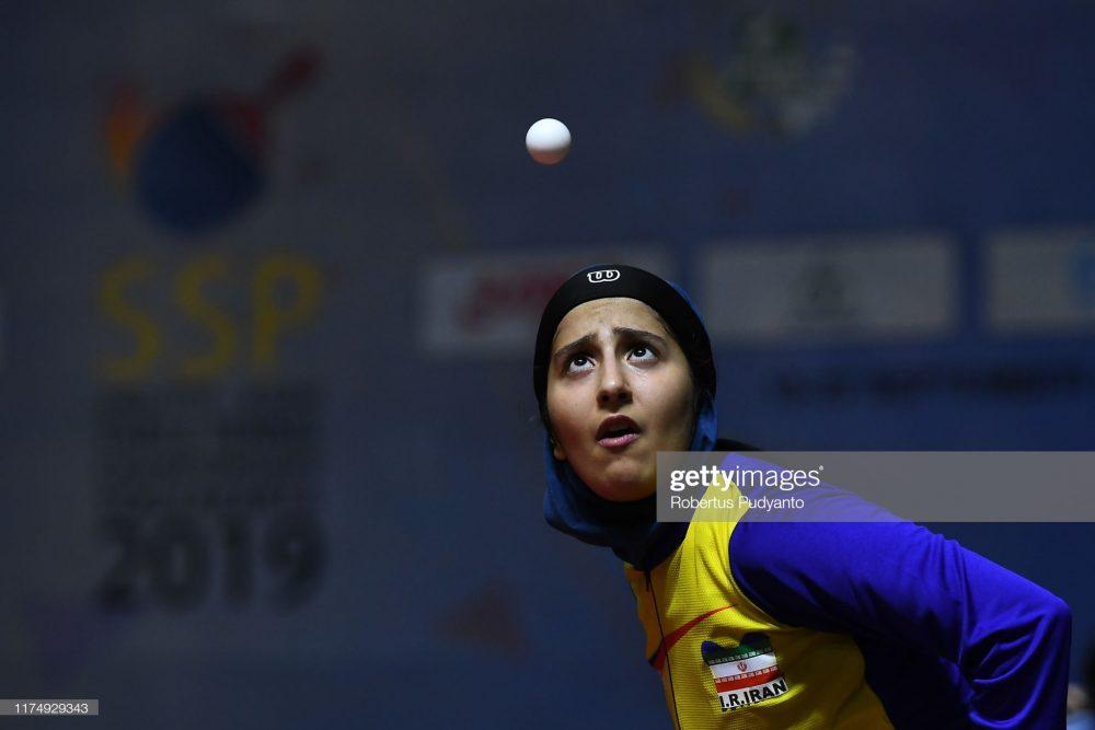 فاطمه جمالی فر در مسابقات تنیس روی میز قهرمانی آسیا 4 1000x667 گزارش تصویری | فاطمه جمالی فر در مسابقات تنیس روی میز قهرمانی آسیا