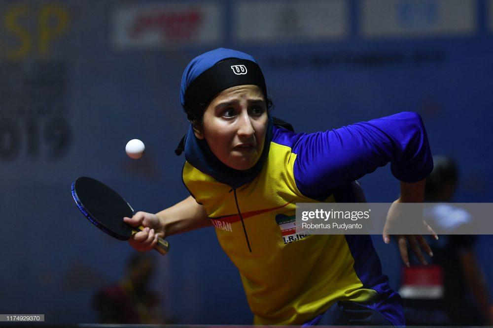 فاطمه جمالی فر در مسابقات تنیس روی میز قهرمانی آسیا 5 1000x667 گزارش تصویری | فاطمه جمالی فر در مسابقات تنیس روی میز قهرمانی آسیا