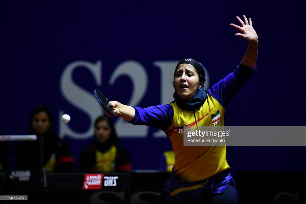 فاطمه جمالی فر در مسابقات تنیس روی میز قهرمانی آسیا 7 1000x667 گزارش تصویری | فاطمه جمالی فر در مسابقات تنیس روی میز قهرمانی آسیا