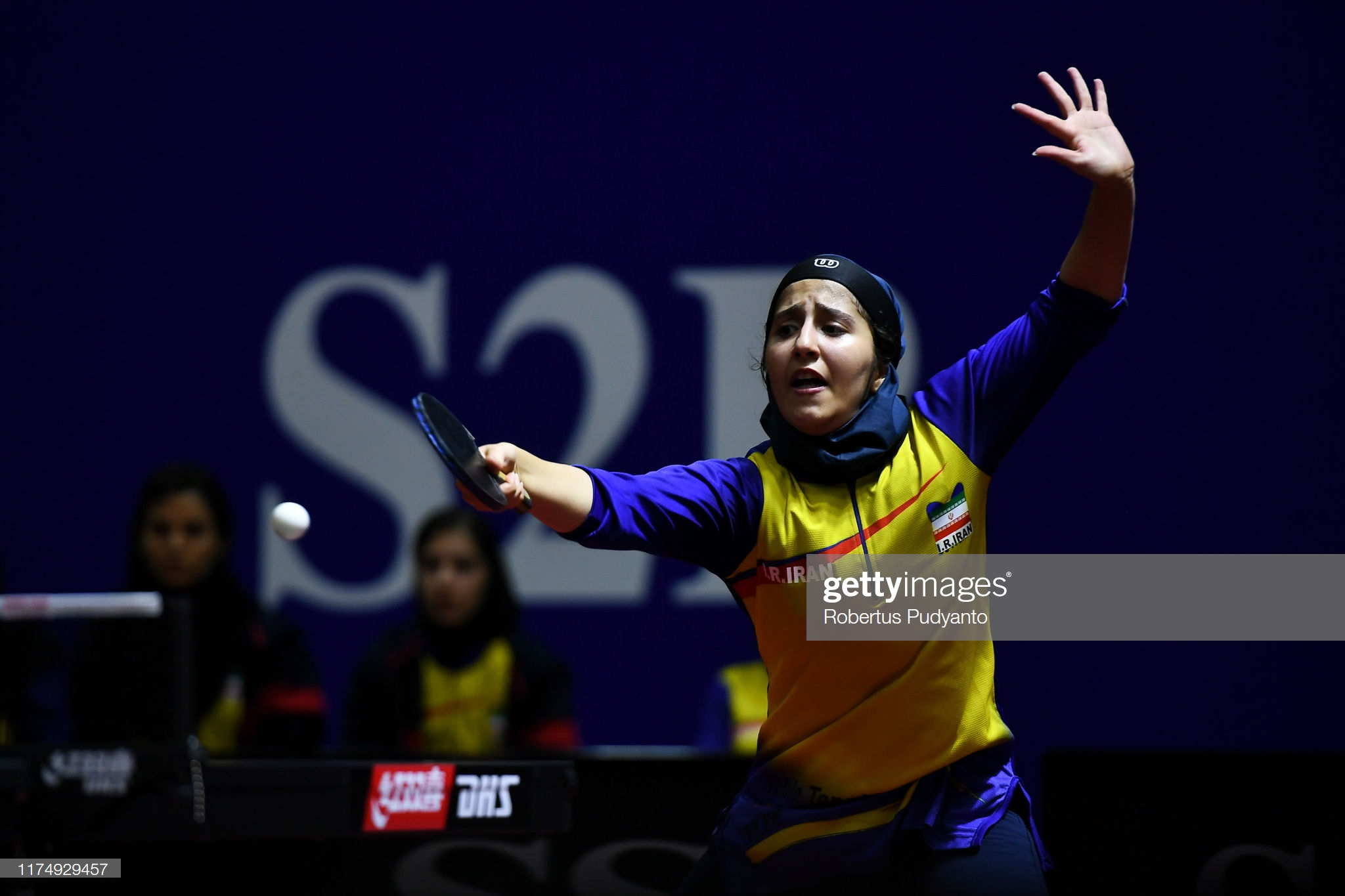 گزارش تصویری | فاطمه جمالی فر در مسابقات تنیس روی میز قهرمانی آسیا