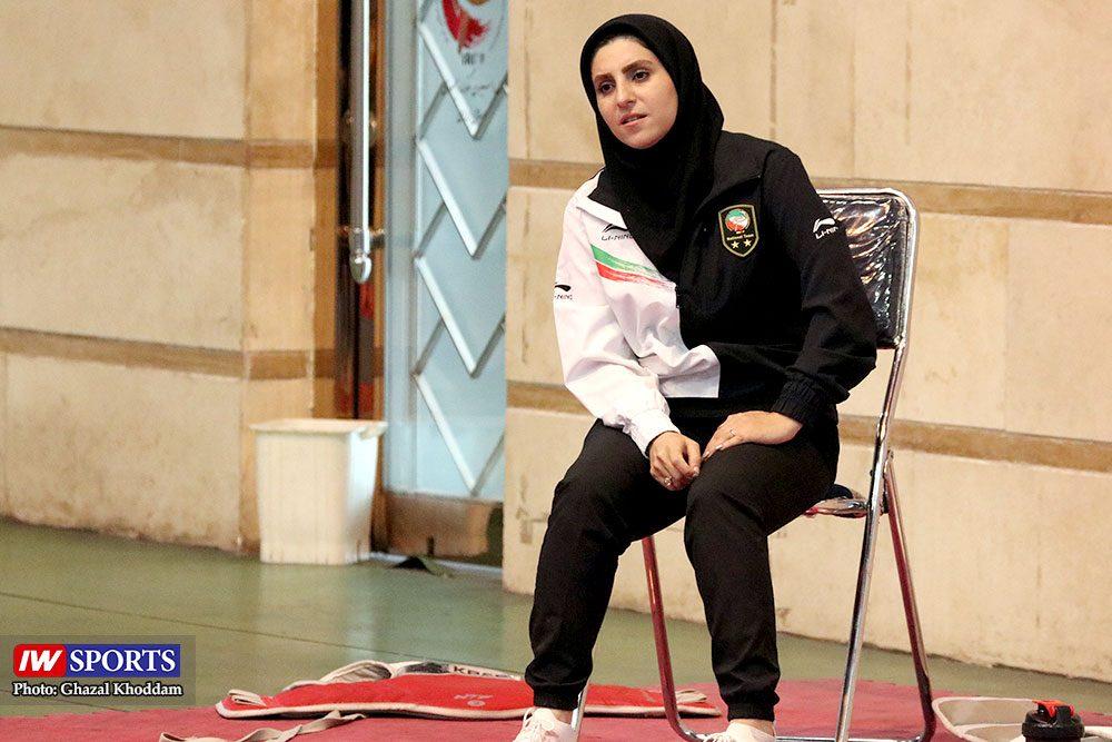 محبوبه محمدنژاد در انتخابی تیم ملی تکواندوی بانوان 1000x667 گزارش تصویری | انتخابی ورود به اردوی تیم ملی تکواندوی بانوان