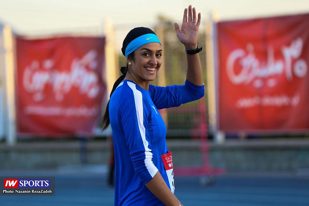 سپیده توکلی از تیم ملی دوومیدانی خداحافظی کرد