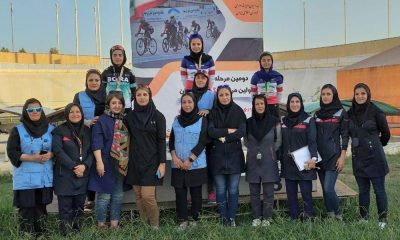 پانصد متر جوانان لیلا حیدری پارمیدا نیکفر یکتا غلامرضایی 400x240 گزارش تصویری | برترینهای مرحله دوم لیگ دوچرخه سواری پیست بانوان