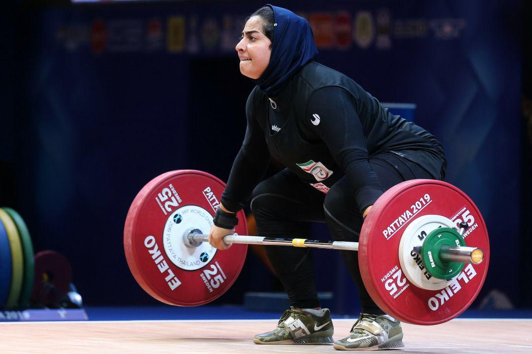 وزنه برداری قهرمانی جهان | پریسا جهان فکریان رکوردهای ملی را بهبود بخشید