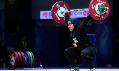 پریسا جهان فکریان 3 400x240 آغاز مسابقات الهام حسینی و پریسان جهان فکریان در تورنمنت وزنه برداری قطر