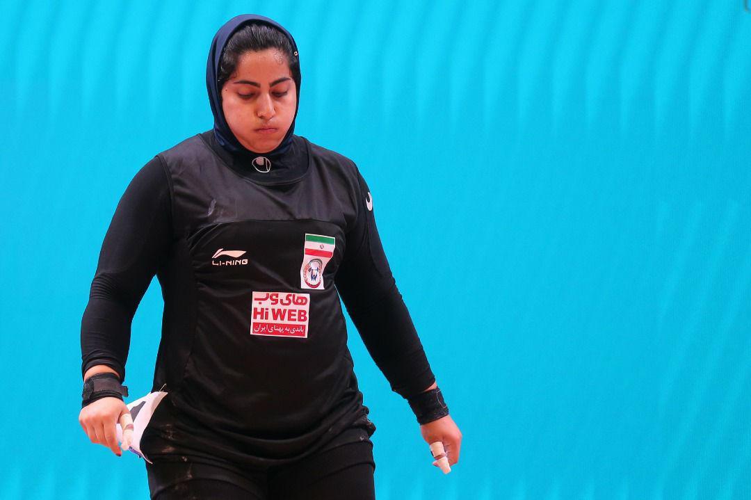 پریسا جهان فکریان و الهام حسینی ؛ امیدهای وزنه برداری در راه المپیک