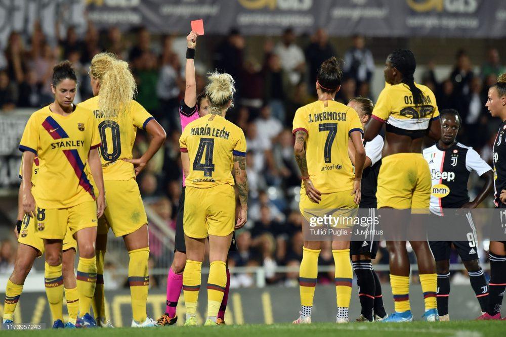 یوونتوس بارسلونا فوتبال زنان لیگ قهرمانان اروپا 1 1000x667 گزارش تصویری   دیدار تیمهای یوونتوس و بارسلونا در لیگ قهرمانان زنان