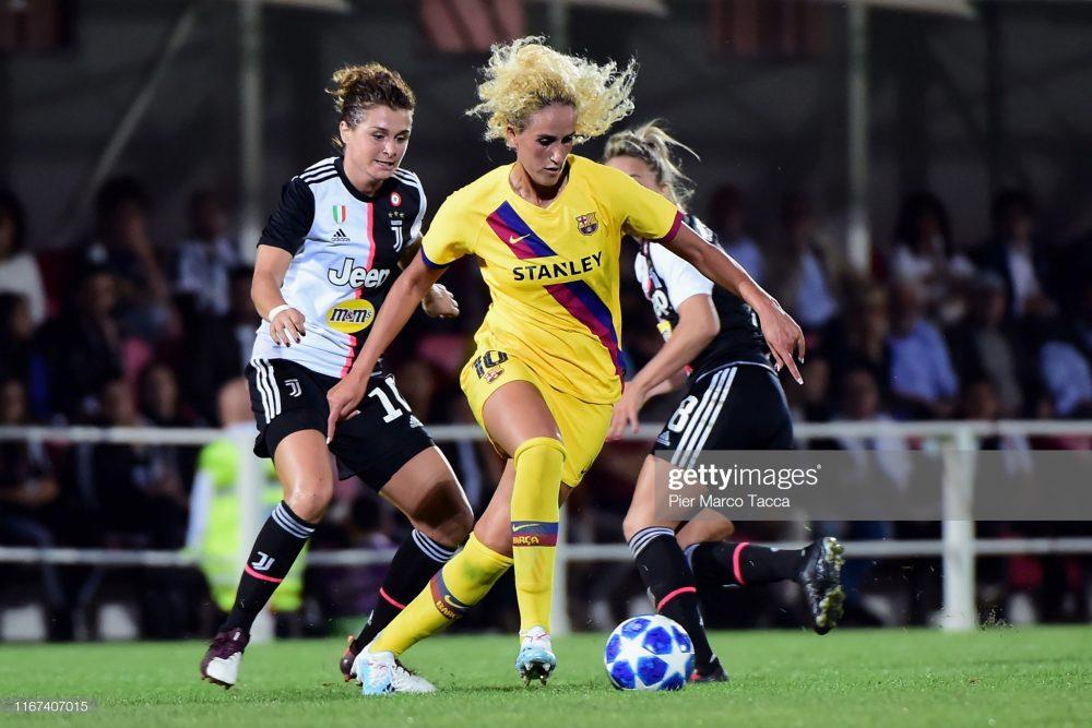 یوونتوس بارسلونا فوتبال زنان لیگ قهرمانان اروپا 2 1000x667 گزارش تصویری | دیدار تیمهای یوونتوس و بارسلونا در لیگ قهرمانان زنان