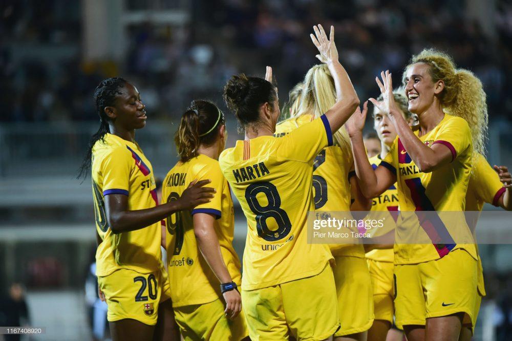 یوونتوس بارسلونا فوتبال زنان لیگ قهرمانان اروپا 4 1000x666 گزارش تصویری   دیدار تیمهای یوونتوس و بارسلونا در لیگ قهرمانان زنان