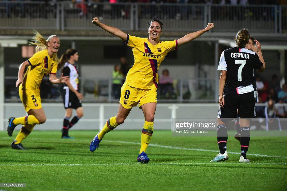 یوونتوس بارسلونا فوتبال زنان لیگ قهرمانان اروپا 6 1000x667 گزارش تصویری   دیدار تیمهای یوونتوس و بارسلونا در لیگ قهرمانان زنان