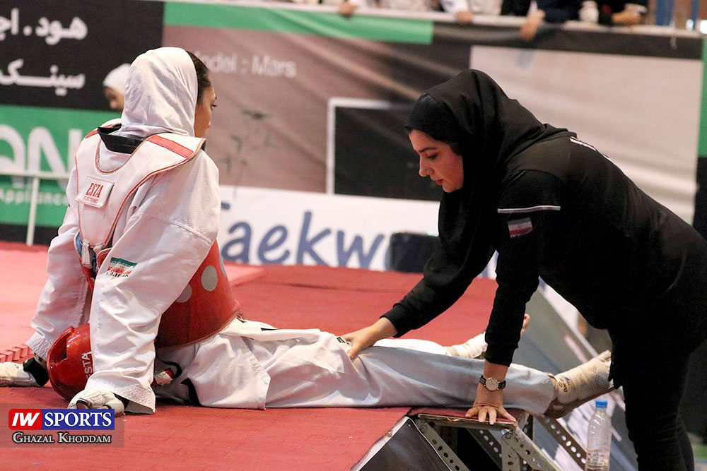 بازگشت کیمیا علیزاده 16 1000x667 گزارش تصویری | روز بازگشت کیمیا علیزاده با طعم پیروزی و مصدومیت