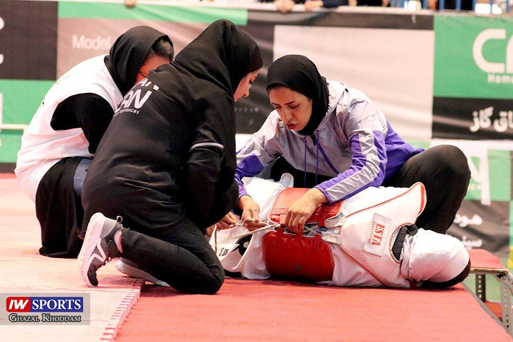 بازگشت کیمیا علیزاده 2 1000x667 گزارش تصویری | روز بازگشت کیمیا علیزاده با طعم پیروزی و مصدومیت