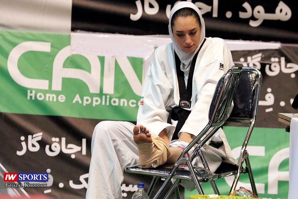 بازگشت کیمیا علیزاده 5 1000x667 گزارش تصویری | روز بازگشت کیمیا علیزاده با طعم پیروزی و مصدومیت