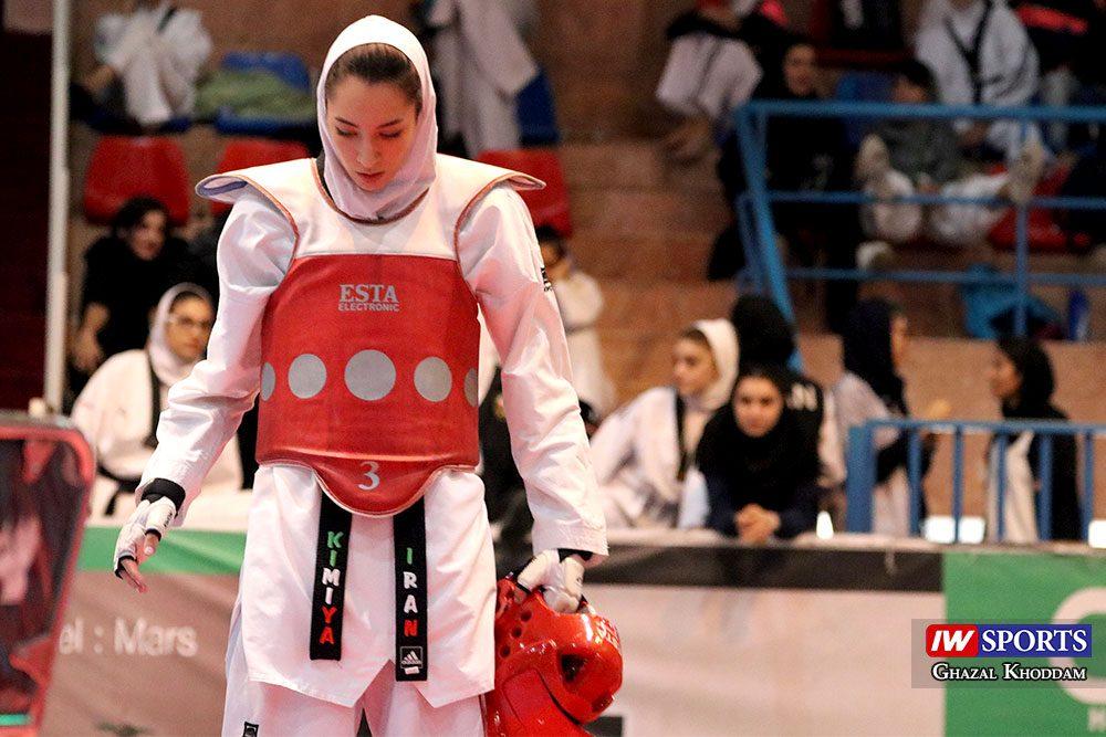 بازگشت کیمیا علیزاده 7 1000x667 گزارش تصویری | روز بازگشت کیمیا علیزاده با طعم پیروزی و مصدومیت