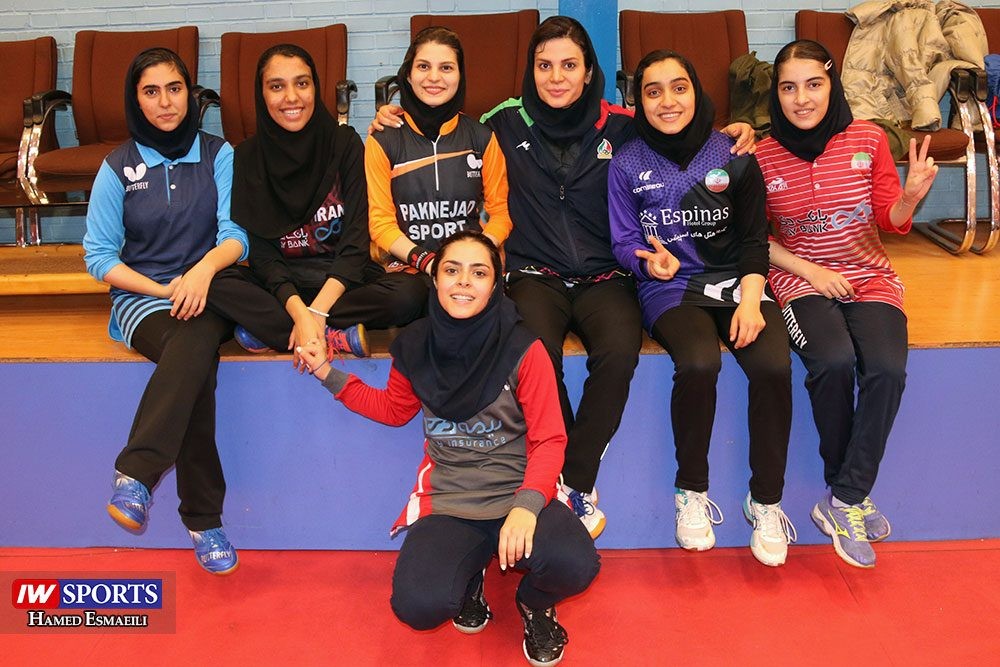 تمرین تیم ملی تنیس روی میز آبان 98 1000x667 گزارش تصویری | شور و انرژی در تمرین تیم ملی تنیس روی میز