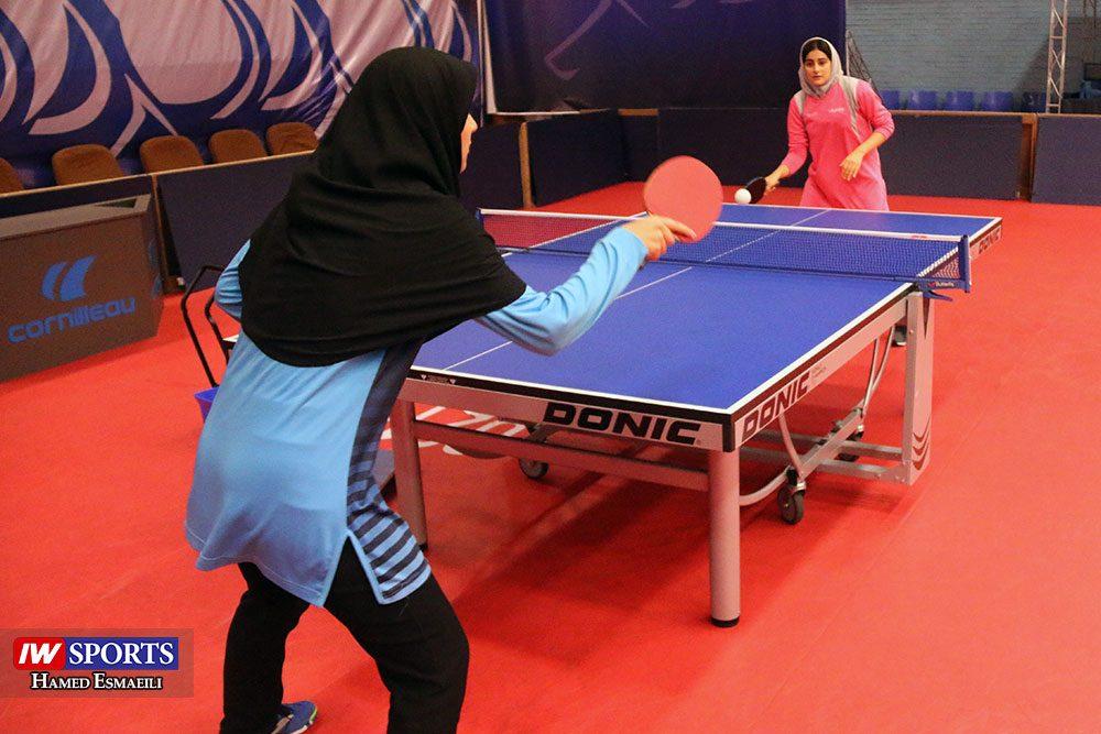 تمرین تیم ملی تنیس روی میز حنانه امیدی و غزاله مولاطلب 1000x667 گزارش تصویری | شور و انرژی در تمرین تیم ملی تنیس روی میز
