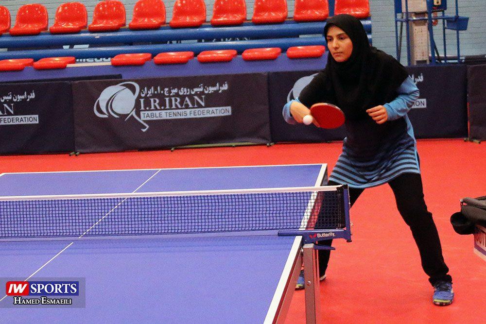 تمرین تیم ملی تنیس روی میز حنانه امیدی 1000x667 گزارش تصویری | شور و انرژی در تمرین تیم ملی تنیس روی میز