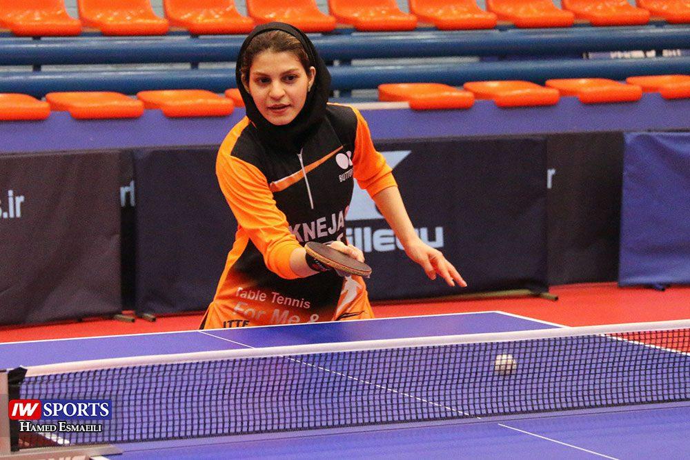 تمرین تیم ملی تنیس روی میز سارا شهسواری 1000x667 گزارش تصویری | شور و انرژی در تمرین تیم ملی تنیس روی میز