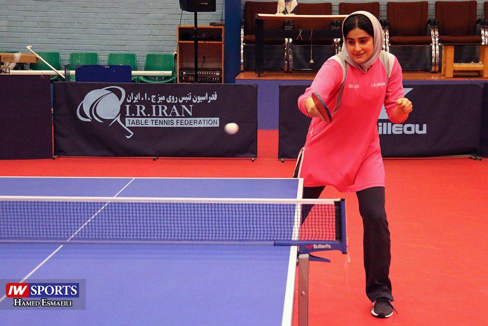 تمرین تیم ملی تنیس روی میز غزاله مولاطلب 1000x667 گزارش تصویری | شور و انرژی در تمرین تیم ملی تنیس روی میز