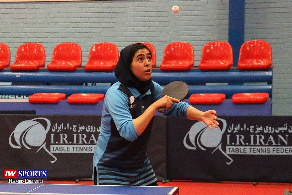 تمرین تیم ملی تنیس روی میز مریم فرعی 1000x667 گزارش تصویری | شور و انرژی در تمرین تیم ملی تنیس روی میز