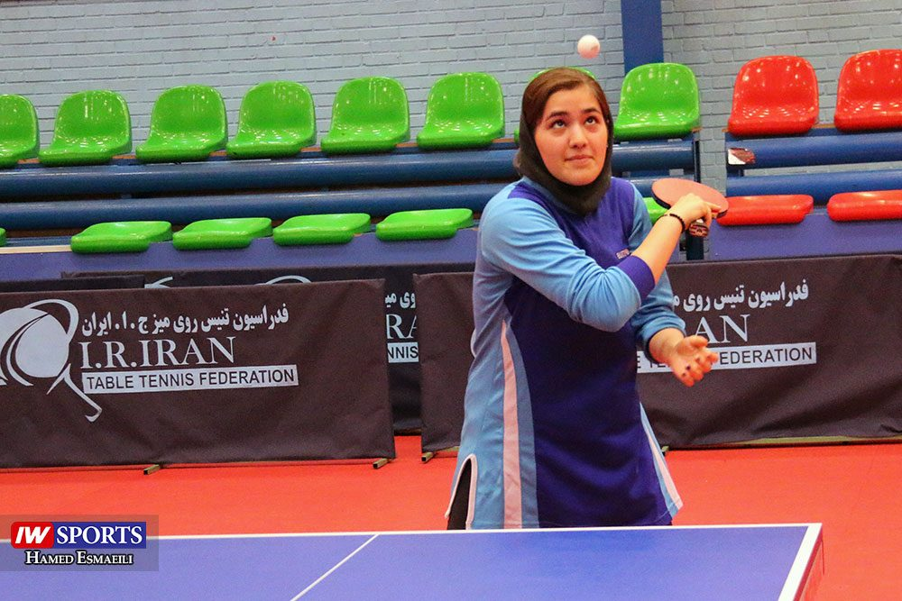 تمرین تیم ملی تنیس روی میز ملیکا کرمی 1000x667 گزارش تصویری | شور و انرژی در تمرین تیم ملی تنیس روی میز