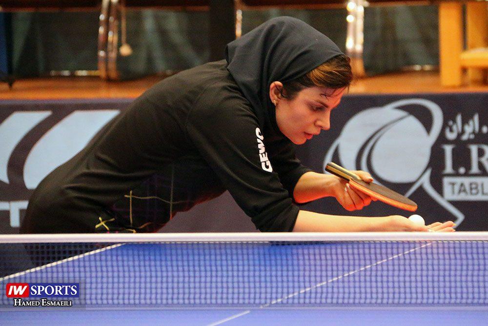 تمرین تیم ملی تنیس روی میز ندا شهسواری 1000x667 گزارش تصویری | شور و انرژی در تمرین تیم ملی تنیس روی میز