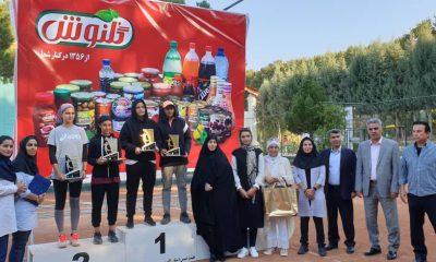 تنیس آزاد سطح B کشور در البرز 400x240 تنیس آزاد بانوان +B کشور | غزاله ترکمن عنوان قهرمانی را کسب کرد