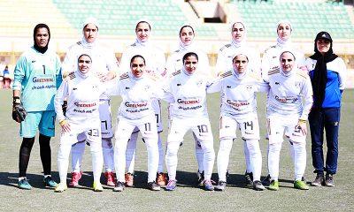 تیم فوتبال بانوان شهرداری بم 400x240 شهرداری بم ؛ قهرمانی بدون از دست دادن امتیاز؟