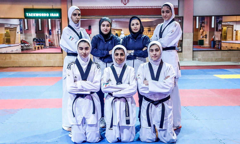 تیم ملی تکواندو تکواندوکارها در انتخابی گرند اسلم ووشی | 4 جوان به علاوه ملیکا میرحسینی