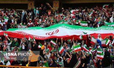 حضور زنان در ورزشگاه آزادی در دیدار ایران و کامبوج 8 400x240 سرانجام زنان در ایران   کامبوج | ارکستر بزرگ 4 هزار نفری در آزادی