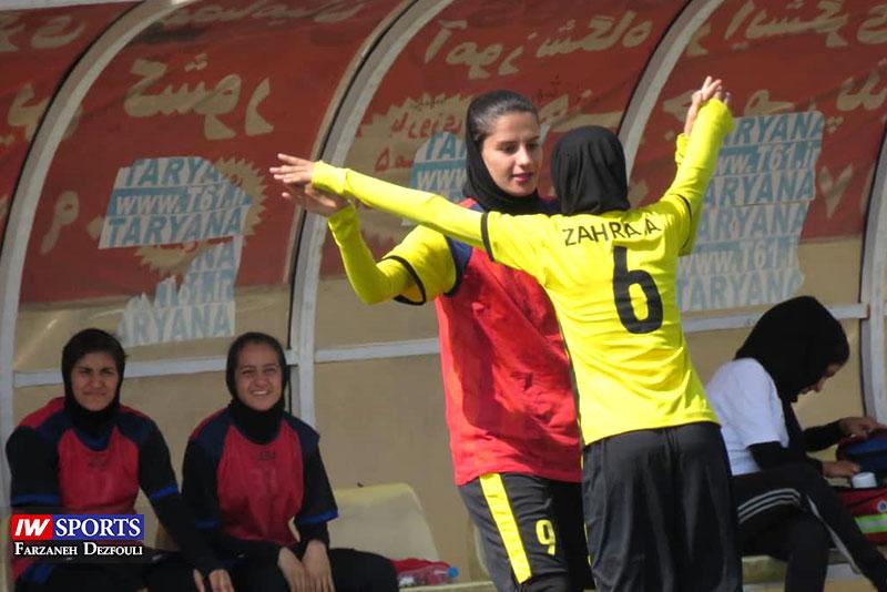گزارش تصویری | دیدار زاگرس شیراز و شهرداری سیرجان در لیگ برتر فوتبال بانوان