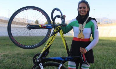 ستاره زرگر تیم ملی دوچرخه سواری 400x240 ستاره زرگر : پیست چوبی چالش ایران در دوچرخه سواری پیست آسیا است