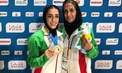 فاطمه صادقی در المپیک ساحلی قطر 3 400x240 فاطمه صادقی صاحب مدال نقره المپیک ساحلی قطر شد