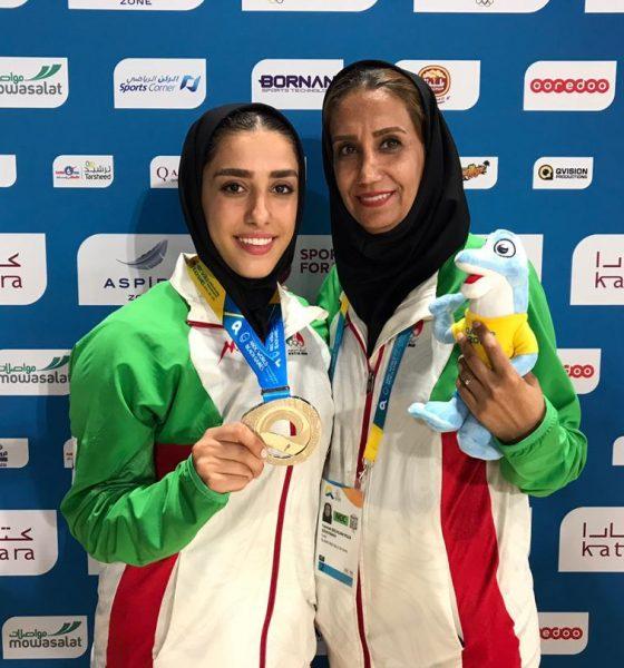 فاطمه صادقی در المپیک ساحلی قطر 3 560x600 فاطمه صادقی صاحب مدال نقره المپیک ساحلی قطر شد
