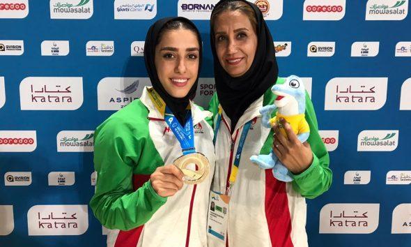 فاطمه صادقی در المپیک ساحلی قطر 3 590x354 فاطمه صادقی صاحب مدال نقره المپیک ساحلی قطر شد