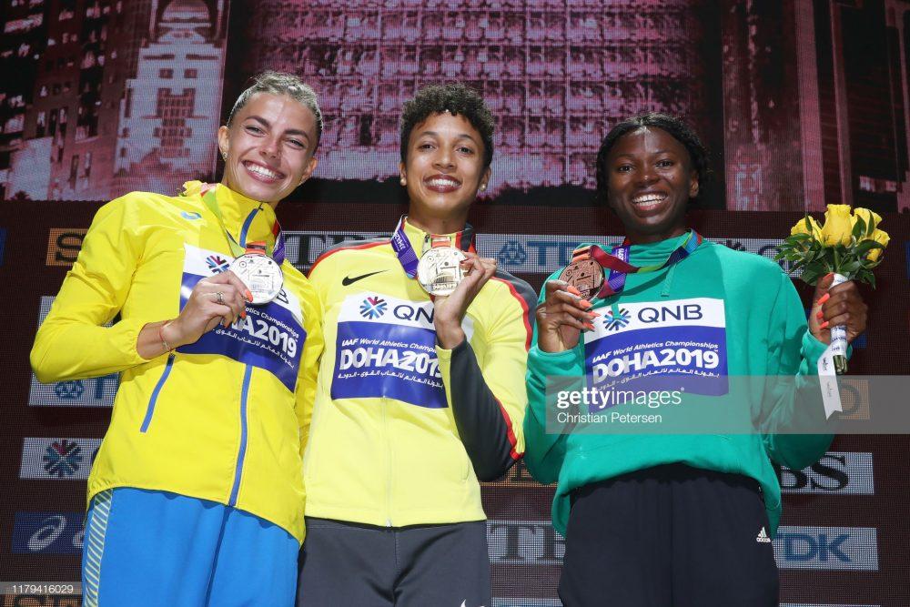 مارینا بخرومانچوک مالایکا میهامبو و اسه برومه در دو و میدانی قهرمانی جهان در قطر 1000x667 در مسابقات دو و میدانی قهرمانی جهان در قطر چه گذشت؟